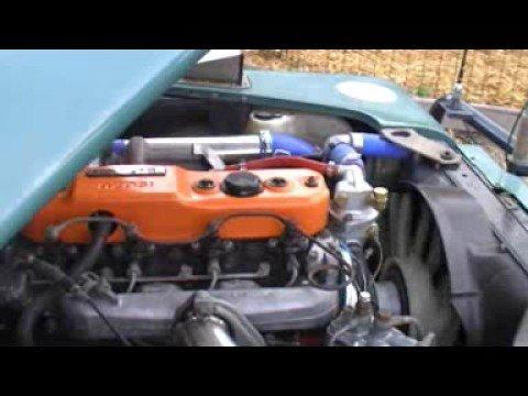 Land Rover Isuzu 4bd1t Youtube
