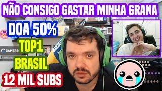 Gaules manda a real não consigo gastar toda grana que ganho - Streamer Top1 Brasil