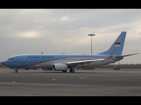 Indonesian Airforce Boeing 737 A-001 at Amsterdam Airport Schiphol (DutchPlaneSpotter)