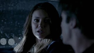 The Vampire Diaries: Elena and Damon die together (their suicide) 5x22 [HD]