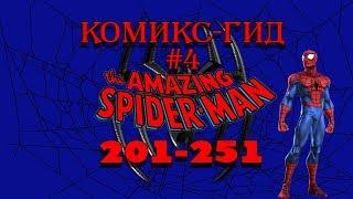Комикс-Гид #4. The Amazing Spider-Man - сюжет оригинальной истории.(#201-251)