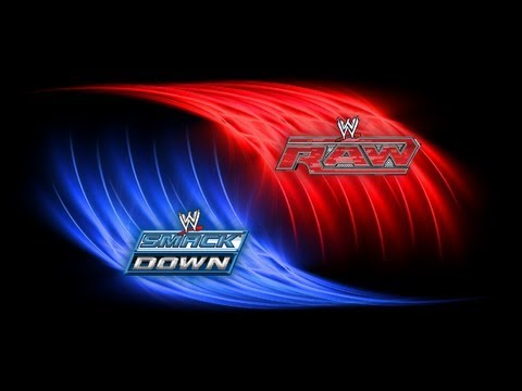 Raw SmackDown Logo Collage Wallpapers For Download