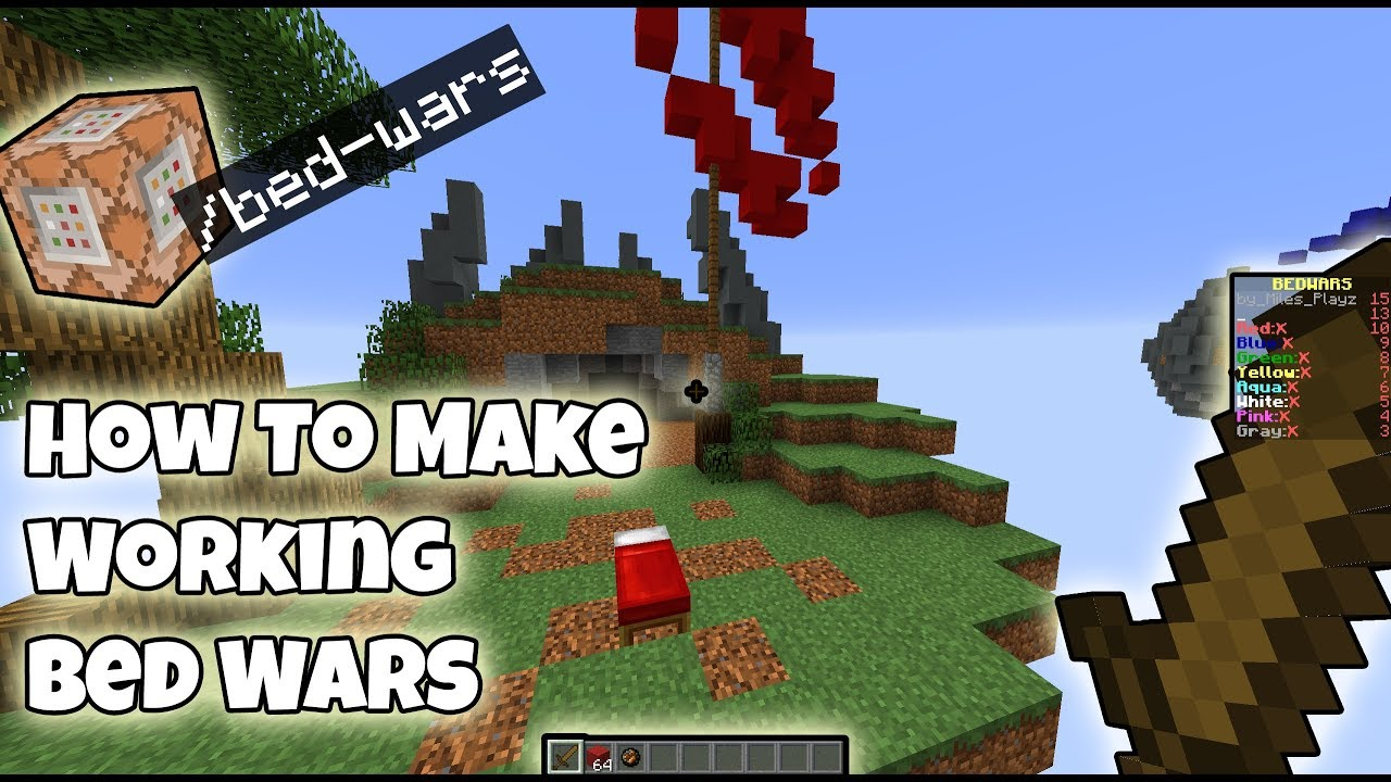 How To Make A Working Bed Wars Map IN VANILLA YouTube