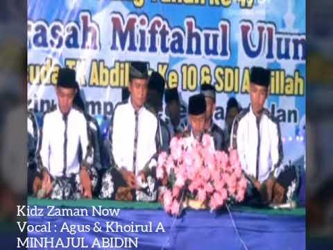 Seru Banget..!!! Sholawat Kids Jaman Now Versi Jaran Goyang (Minhajul Abidin)