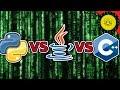 Python VS Java VS C++ | Best Coding Language?