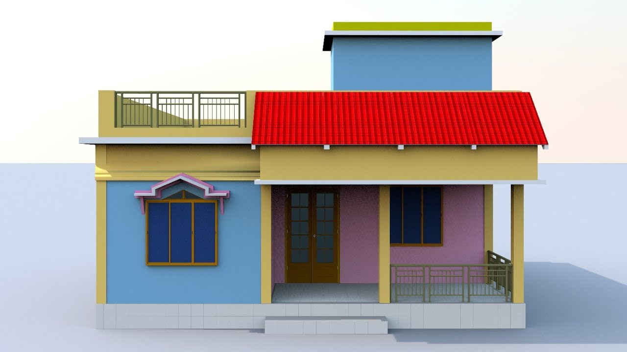 beautiful 3 bedroom house desgin   indianstyle small home planing ideas by prems home plan