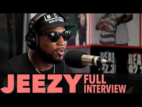 """Jeezy on """"Trap Or Die 3"""", Donald Trump vs. Hillary Clinton! (Full Interview) 