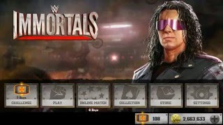 WWE Immortals -Sharp shooter Bret Hart in Online Mode!!!