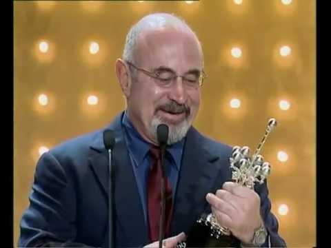 Gala Premio Donostia  Bob Hoskins  50 edición 2002