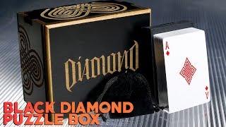 New deck. New Puzzle box. Introducing: BLACK DIAMOND
