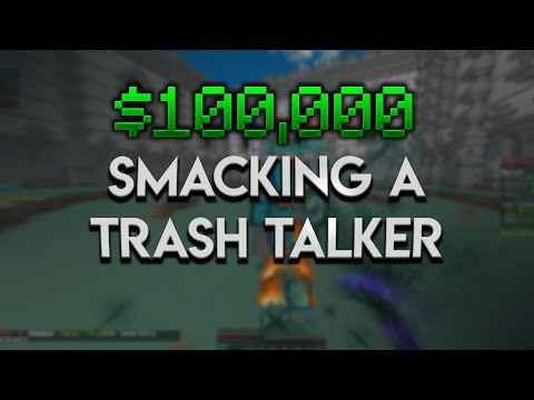 Smacking A Trash Talker For $100,000 (Minecraft Factions EP#1)
