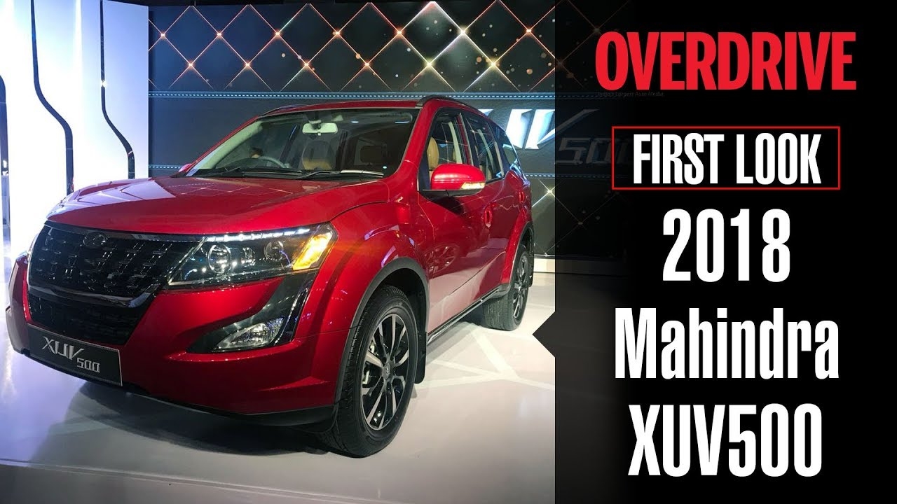 2018 Mahindra Xuv500 Design Features And Prices Overdrive Youtube