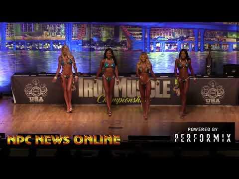 2018 NPC Iron Muscle Championships Bikini Overall