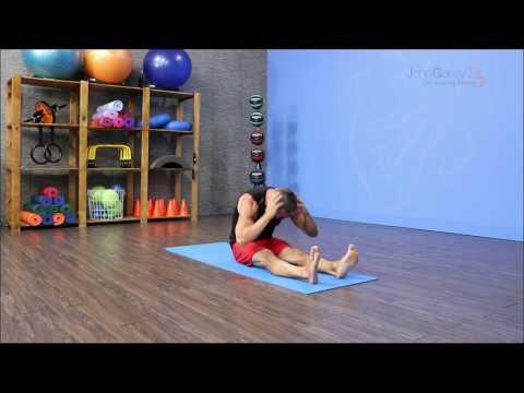 Pilates Mat: Neck Pull Exercise