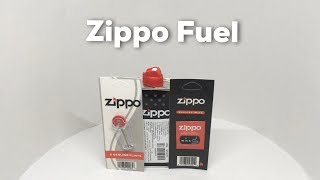 Zippo Fuel, Flint and Wick