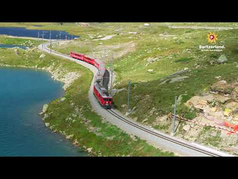 Aboard The Swiss Travel System - Switzerland By Train, Bus And Boat