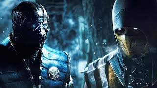 Scorpion Vs Sub Zero - Mortal Kombat