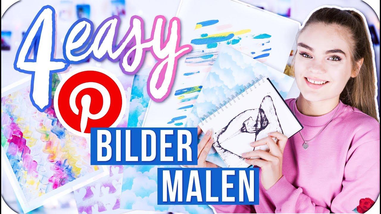 4 Easy Bilder Die Jeder Malen Kann Pinterest Inspired Diy I