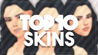 The Sims 4: Top Ten Maxis Match Skins - Female Edition || CC LINKS INCLUDED
