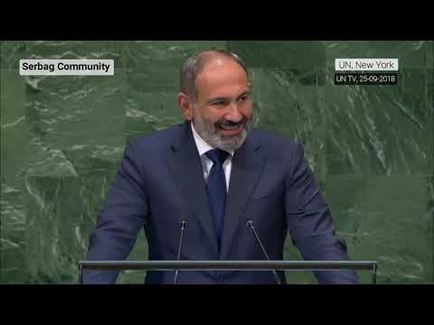 Pashinyan in UN General Assembly about Karabakh conflict