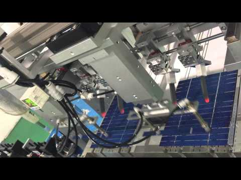Solar Stringer Machine For 5 Bus Bar Cells Funnydog Tv