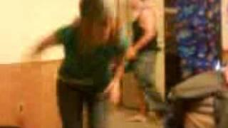 me dancing again