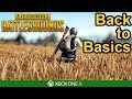 BACK TO BASICS - PUBG Xbox One X Gameplay
