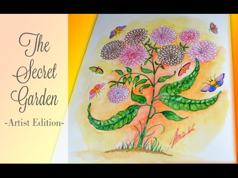 The Secret Garden By Johanna Basford Artist Edition