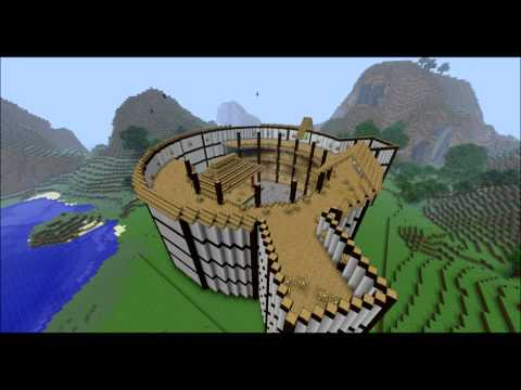 The Globe Theatre - Minecraft Timelapse