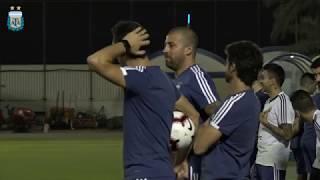 La Selección Argentina se pone a punto para el encuentro frente a Brasil