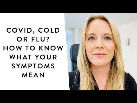 Covid, cold or flu? How to know what your symptoms mean | Get The Gloss