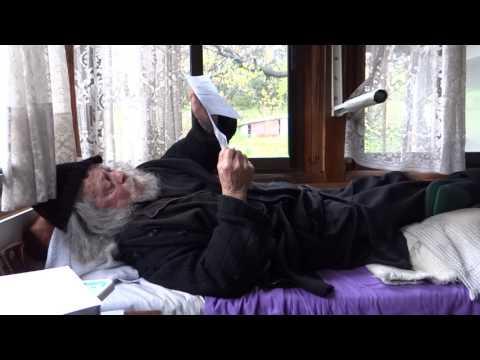 În Sf. Munte Athos, acasă la Gheronda Gavriil (5 aprilie 2017)