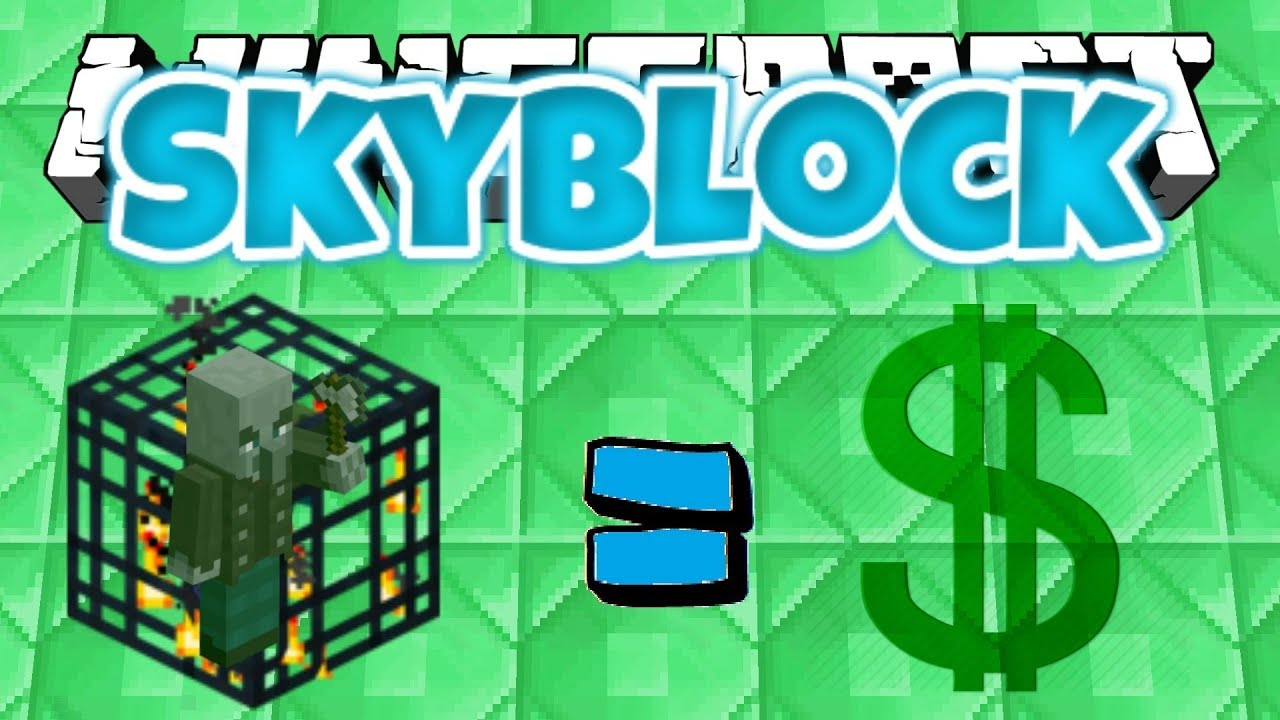 *NEW* VINDICATOR SPAWNERS ARE OP !!!  Minecraft SKYBLOCK #12 (GlacialRealms)