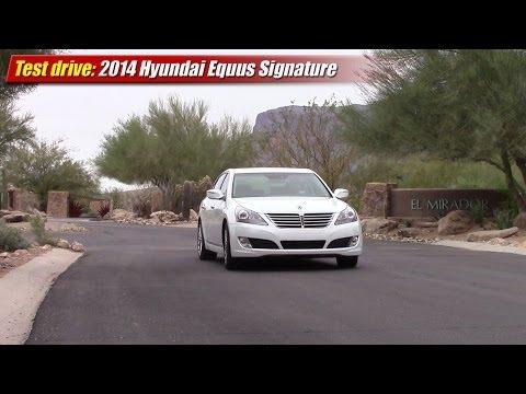 Test drive 2014 Hyundai Equus Signature