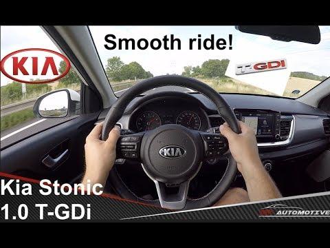 Kia Stonic 1.0 T-GDi DCT POV Test Drive + Acceleration 0 - 190 Km/h