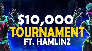 $10000 UMG TOURNAMENT - DAEQUAN & HAMLINZ VS. NOAHJ456 & AVXRY - (Fortnite Battle Royale)