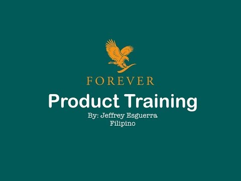 Daily Nutrition - Forever Living Products Training Tagalog By Jeffrey Esguerra