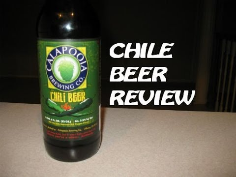 Calapooia Chile Beer Review | Panda's BAR