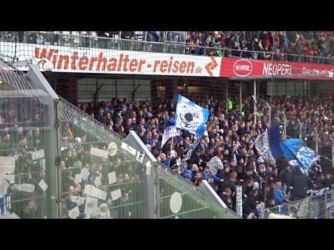 Auswärts-Support der HERTHA-Fans in Freiburg!