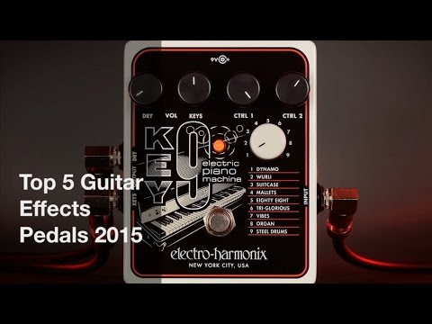 top 5 best guitar effects pedals 2015 youtube. Black Bedroom Furniture Sets. Home Design Ideas