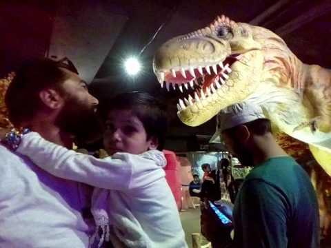 Dinosaur ,Jurassic park in Karachi Pakistan(2)