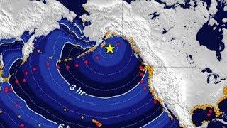 Угроза цунами: на Аляске произошло сильнейшее землетрясение. Что произошло. Что произошло в мире.