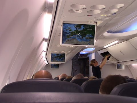 Onboard Thomson 737 800 Manchester To Pula And Return