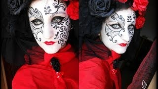 Tutorial Venetian Mask Thumbnail