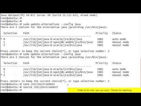Setting JAVA_HOME Environment Variable on Ubuntu 16 & LinuxMint