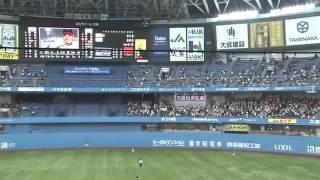 千葉羅德海洋隊 外野手 岡田幸文#66 超誇張的外野守備