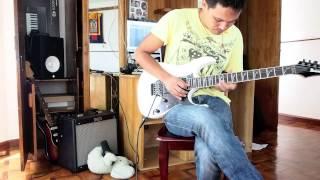 Cryin Joe Satriani Cover by Pelden D