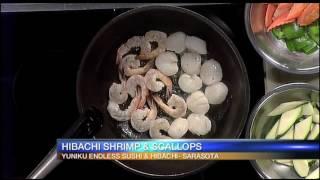 Hibachi Shrimp and Scallops