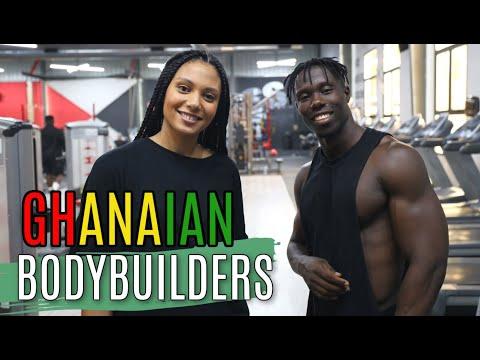 GHANA'S BEST BODYBUILDERS | THE FITNESS INDUSTRY IN GHANA