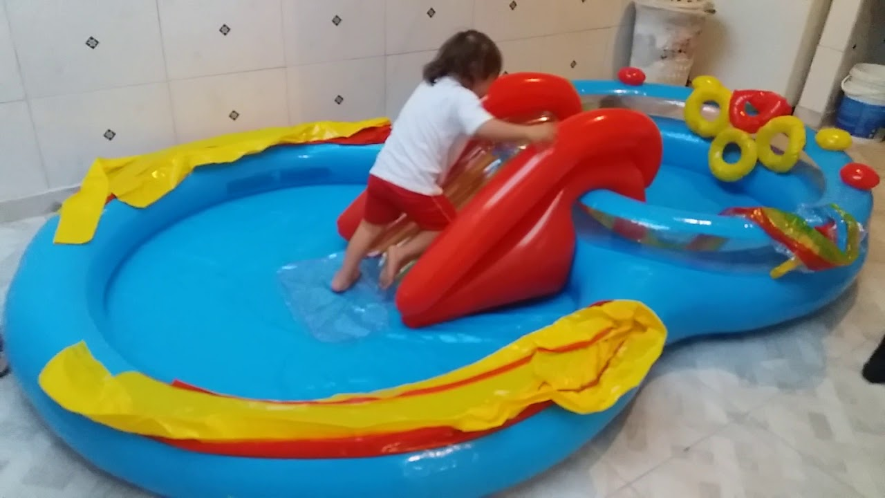 piscina infantil surpresa pra crian a youtube